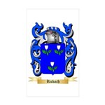 Rubach Sticker (Rectangle 50 pk)