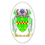 Ruane Sticker (Oval 10 pk)