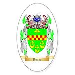 Ruane Sticker (Oval 50 pk)