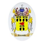 Rozanski Oval Ornament