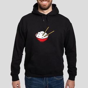 Bowl Of Rice Hoodie (dark)