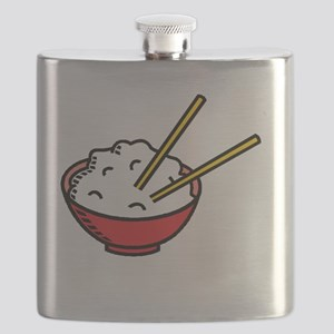 Bowl Of Rice Flask