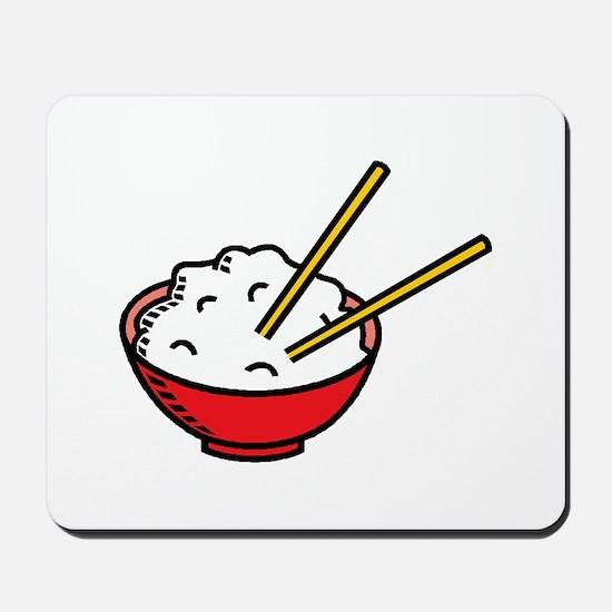 Bowl Of Rice Mousepad