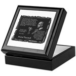 Foucault's Critique Keepsake Box