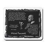 Foucault's Critique Mousepad