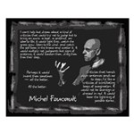 Foucault's Critique Small Poster