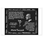 Foucault's Critique Large Poster