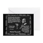 Foucault's Critique Greeting Cards (Pk of 20)