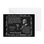 Foucault's Critique Greeting Cards (Pk of 20)
