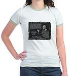 Foucault's Critique Jr. Ringer T-Shirt