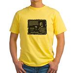 Foucault's Critique Yellow T-Shirt