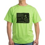 Foucault's Critique Green T-Shirt