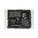 Foucault's Critique Rectangle Magnet (10 pack)