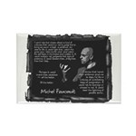 Foucault's Critique Rectangle Magnet (10 pack)