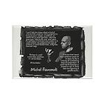 Foucault's Critique Rectangle Magnet (100 pack)
