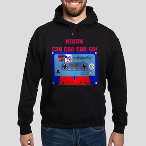 NIXON C30 C60 C90 GO! Hoodie (dark)