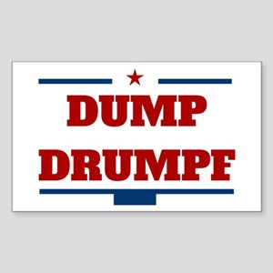 Dump Drumpf Sticker