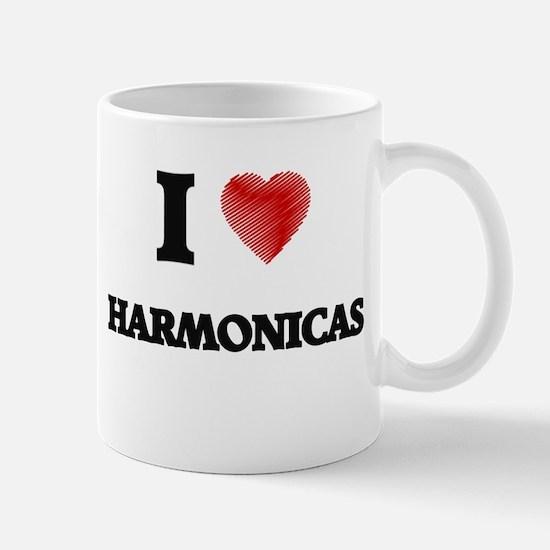 I love Harmonicas Mugs