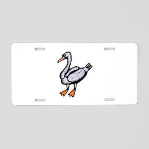 Goose Aluminum License Plate