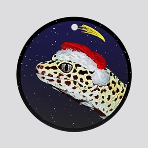 Christmas Night Leopard Gecko Christmas Ornament