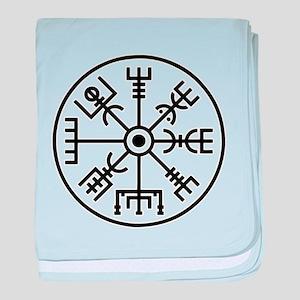 vegvisir Scandinav symbol baby blanket