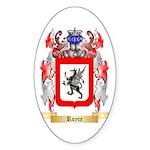 Royce 2 Sticker (Oval 50 pk)