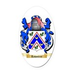 Rowntree Oval Car Magnet