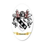Rowland Oval Car Magnet