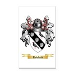 Rowland Rectangle Car Magnet