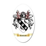 Rowland 35x21 Oval Wall Decal