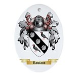 Rowland Oval Ornament