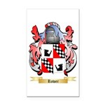 Rower Rectangle Car Magnet
