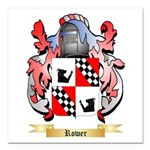 Rower Square Car Magnet 3