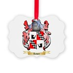 Rower Picture Ornament