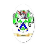 Rowell Oval Car Magnet