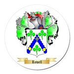 Rowell Round Car Magnet