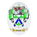 Rowell Oval Ornament