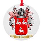 Rowe 2 Round Ornament