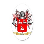 Rowe 2 Oval Car Magnet
