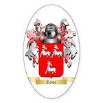 Rowe 2 Sticker (Oval 10 pk)