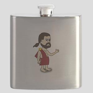 Comic Characters Toga Flask