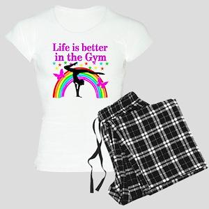GYMNAST GIRL Women's Light Pajamas