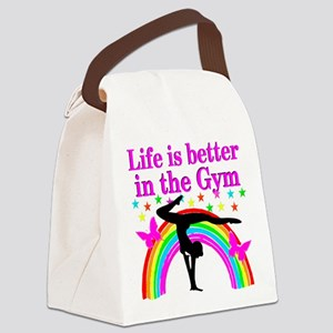 GYMNAST GIRL Canvas Lunch Bag