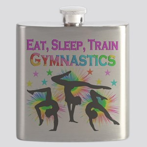 GYMNAST GIRL Flask
