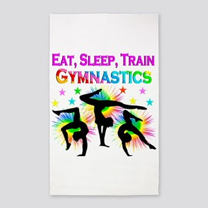 GYMNAST GIRL Area Rug