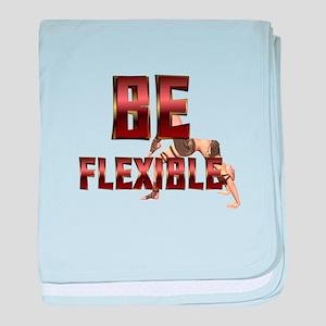 Be Fitness Flexible baby blanket