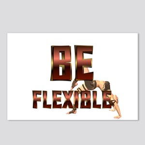 Be Fitness Flexible Postcards (Package of 8)