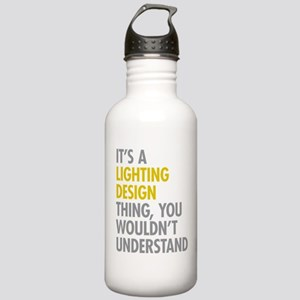 Lighting Design Stainless Water Bottle 1.0L