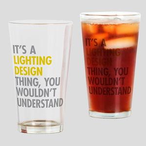 Lighting Design Drinking Glass