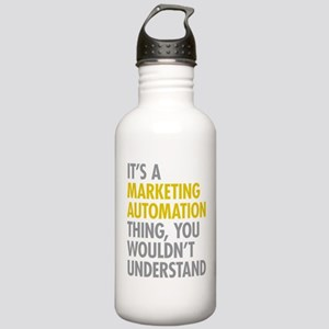 Marketing Automation Stainless Water Bottle 1.0L